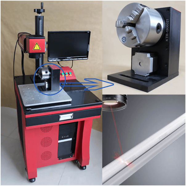 red laser marking machine